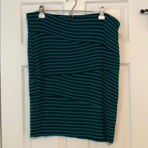 Mossimo Striped Skirt